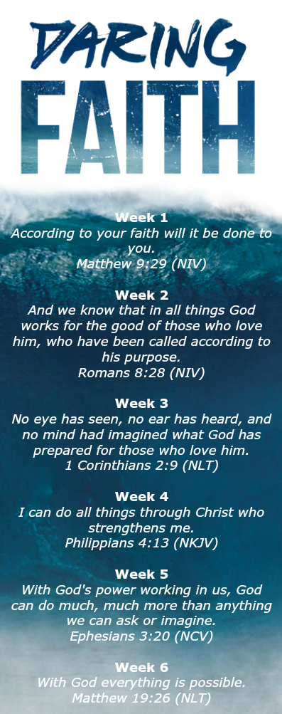 Daring Faith Challenge